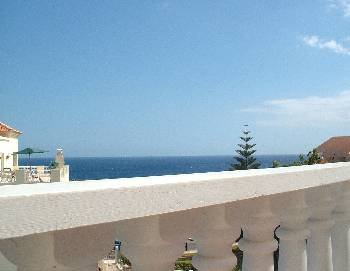 Apartment in Spain, Golf del Sur: Beautiful Sea Views from the sunny balcony!
