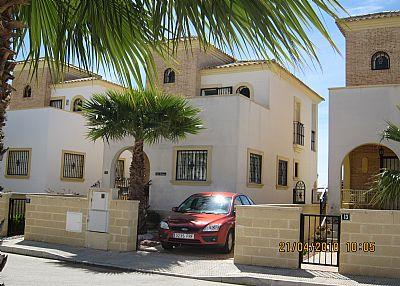 Villa in Spain, El Raso: FRONT VIEW VILLA SABRINA