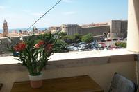 Apartment in Croatia, Dubrovnik: View from the balcony