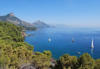 Apartment in Italy, Maratea: View from the property