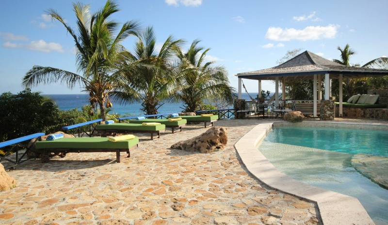 Villa in Antigua and Barbuda, Falmouth: Views to the Caribbean Sea