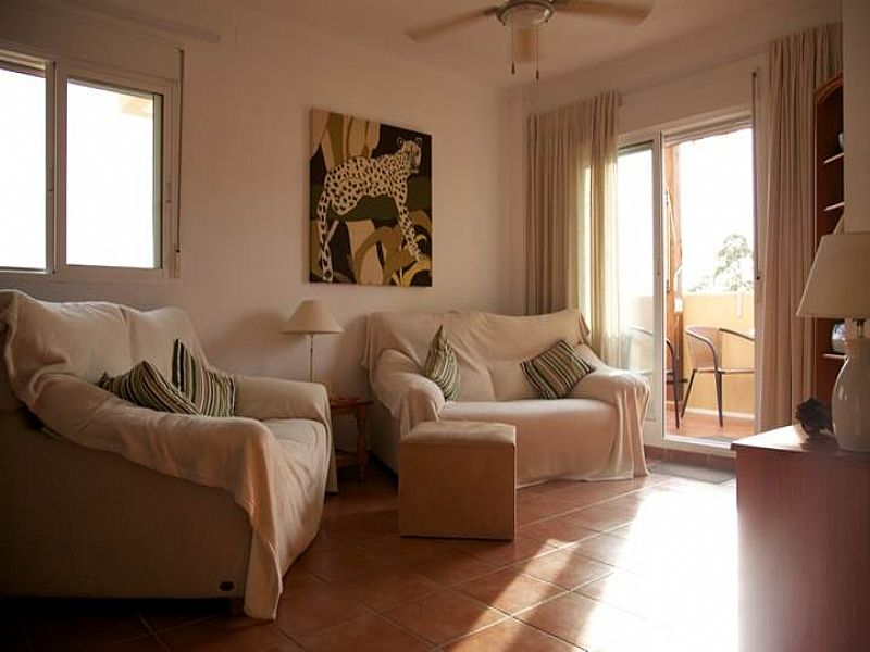 Apartment in Spain, La Azohia: Lounge 1