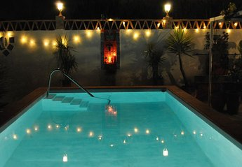 Cottage in Spain, Motril: NIGHT POOL, useable 24/7