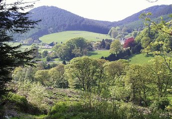 Cottage in United Kingdom, Powys: Looking towards the village