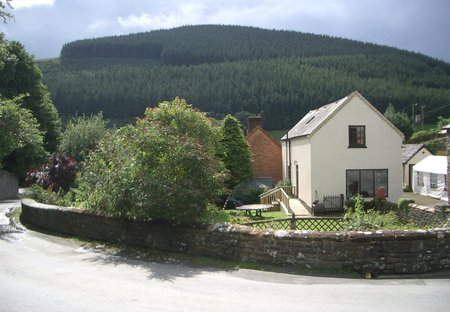 Cottage in Abbey Cwmhir, Wales