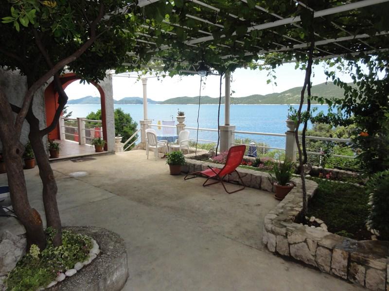 House in Croatia, Slano: Terrace