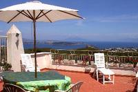 Villa in Italy, Ischia: View from the terrace