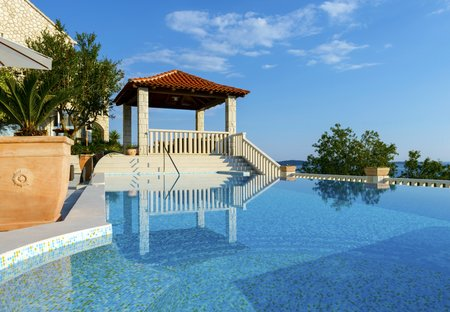 Villa in Soline, Croatia
