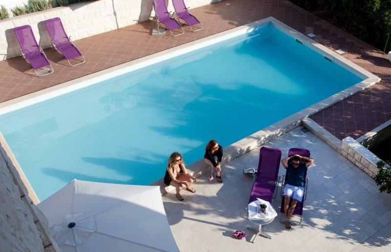 Apartment in Croatia, Hvar: pool