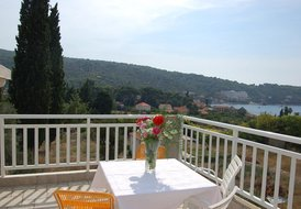Holiday for up to 6 persons on Lopud island near Dubrovnik