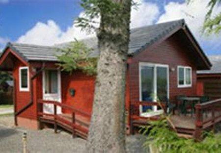 Lodge in Criffel, Scotland: Heron Lodge