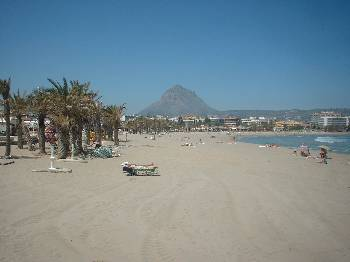 Apartment in Spain, Javea Arenal: Only 30 seconds from all this!!!