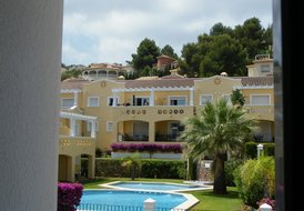 Luxury townhouse with golf and sea views Costa Blanca