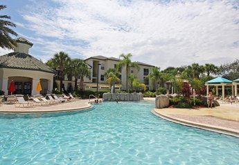Apartment in USA, Lindfields: Tropical Pool at Legacy Dunes (solar heated)  Gently shelving entry.