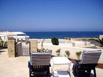 Villa in Cyprus, Chlorakas: Stunning views from the front patio