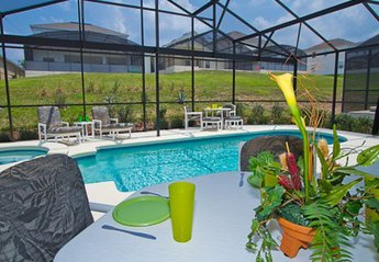 Villa in USA, Highgate Park: Lanai - check out how our planting has grown