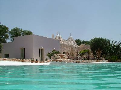 Villa in Italy, Ostuni: Pool and Villa