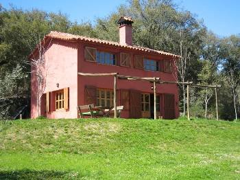 Country house in Spain, Galaroza: The house
