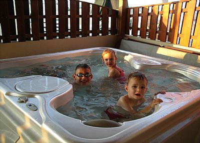 Penthouse apartment in Cyprus, Kapparis: Relax in your JACUZZI SPA