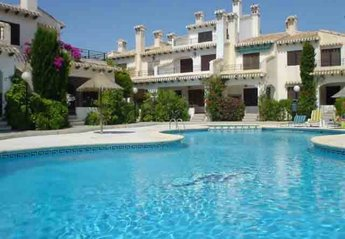 Duplex Apartment in Spain, Cabo Roig: 1 of 2 lovely swimming pools