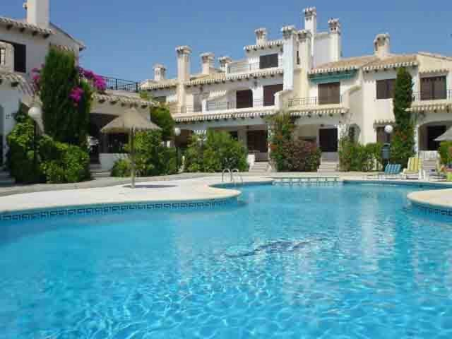 Villa in Spain, Cabo Roig: 1 of 2 lovely swimming pools