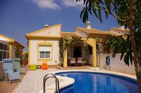Villa in Spain, Mazarron Country Club: El Olivo with its  private pool and shady terrace