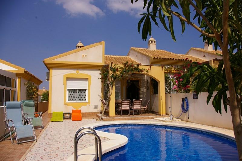 Villa in Spain, Mazarron Country Club: El Olivo's private pool