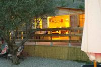 Cabin in Spain, Monda: Wrap around decked area,leading onto  your own private garden.