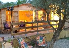 Wooden Cabin , Private Pool & garden, Rural Retreat Sleeps Two