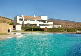 Luxurious apartment Marbella with sea view and garden