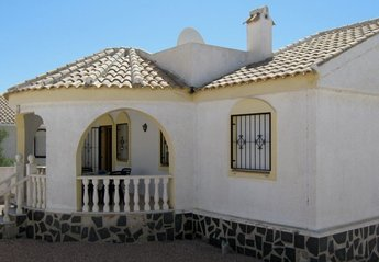 Villa in Spain, Camposol Golf: Front of Villa