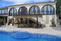 Villa in Spain, Alozaina: Villa with pergola and pool / terrace