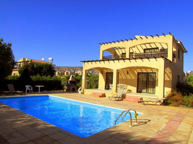 Villa in Cyprus, Coral Bay