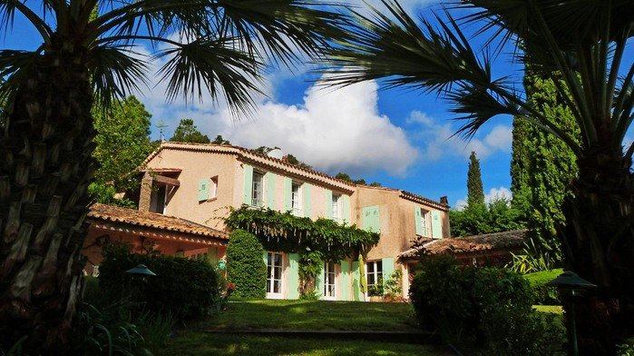 Villa in France, Grimaud