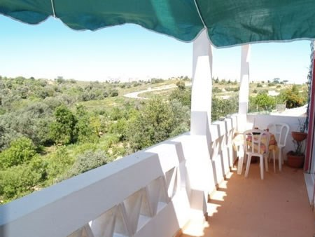 Apartment in Portugal, Ferragudo: The private terrace has beautiful views of the surrounding area,..