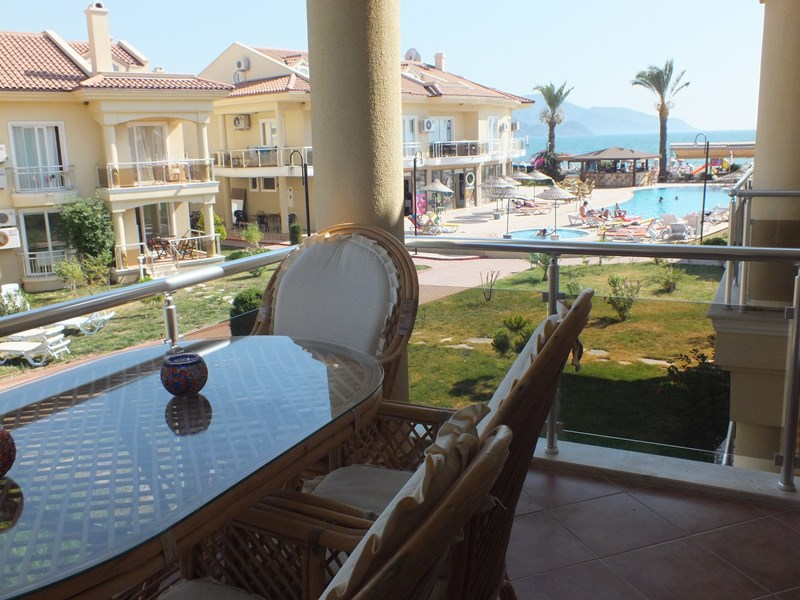 Apartment in Turkey, Calis Beach: Sea view