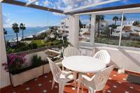 Apartment in Spain, Estepona East: Picture 1 of Large terrace with sea views