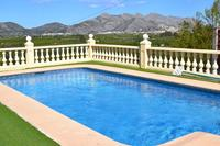 Villa in Spain, Orba: The 8m x 4m pool has stunning views for you to enjoy.