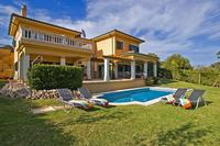 Villa in Spain, Cala Vinyas: Villa Luna-Pool and Garden
