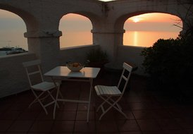 Eremo di Montevergine: Teti, romantic and panoramic for couples