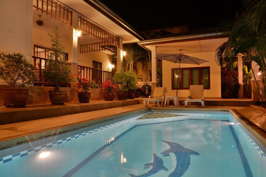 Luxury Green Villa With Own Pool, SPA, Situated in a 5* Resort