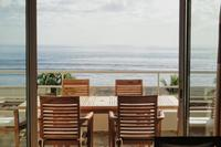 Apartment in Mauritius, Tamarin: Tamarin Beach Apartments Mauritius: View of outside from living r..