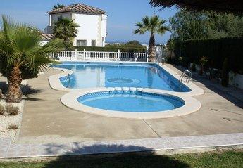 Apartment in Spain, Las Violetas: Large communal pool in the La Violetas, Villamartin