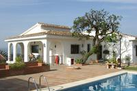 Villa in Spain, Alhaurin el Grande: Front of the Villa view from pool side