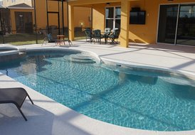 5Br/4Ba-Disney Area S-Pool Home- Features 3 King Suites etc.