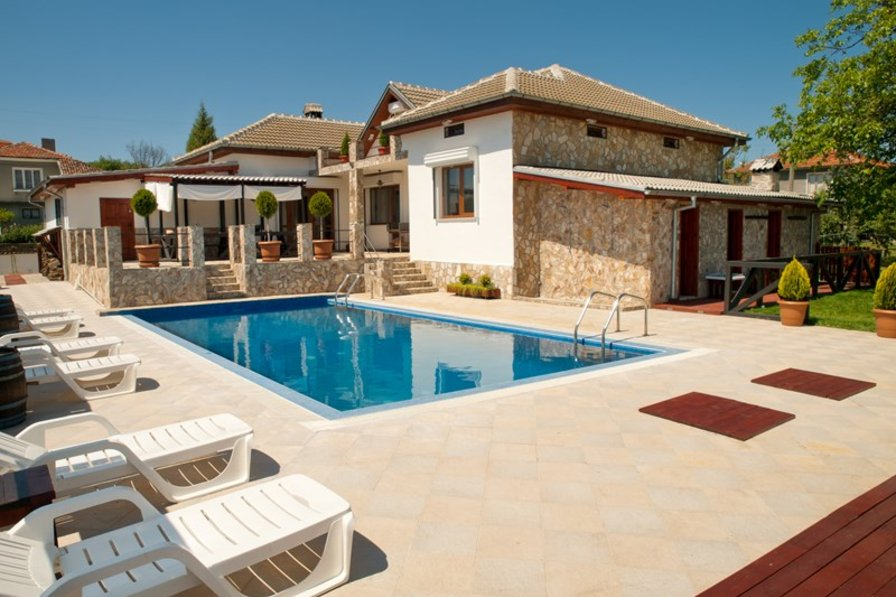 Owners abroad Fantastic luxury villa with private pool,sauna and more....