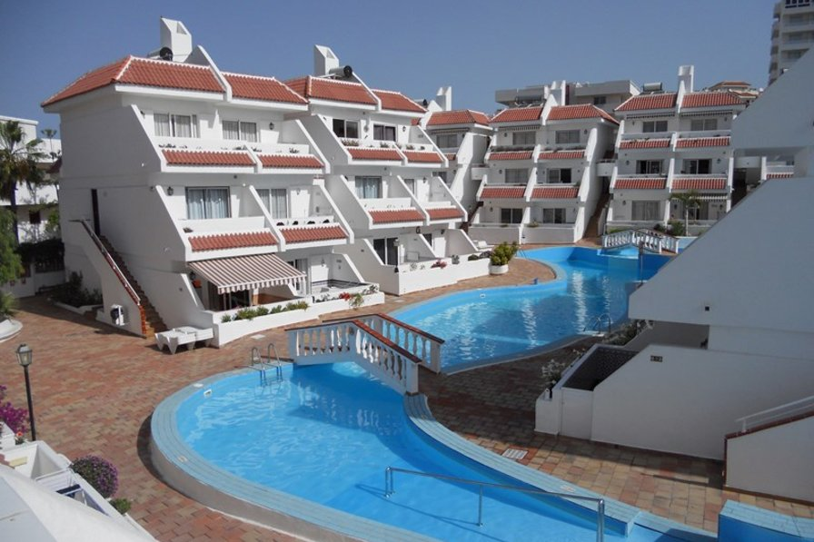 Apartment in Spain, Playa de las Américas: View from the balcony
