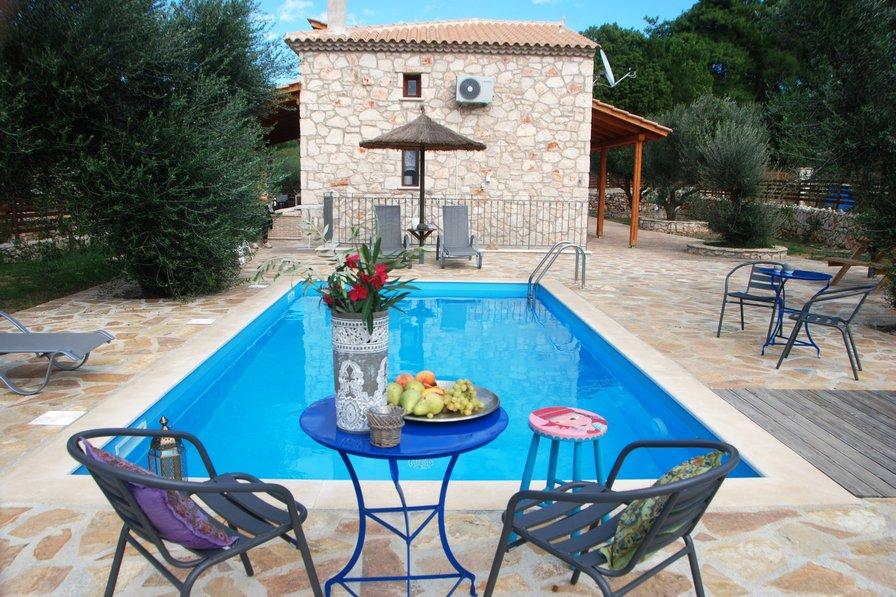 Villa in Greece, St. Nicholas Beach