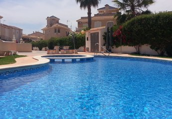 Town House in Spain, La Zenia: Private residents only pool.