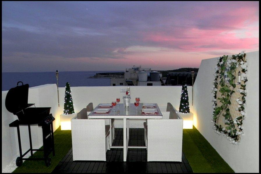 Penthouse apartment in Malta, Marsascala